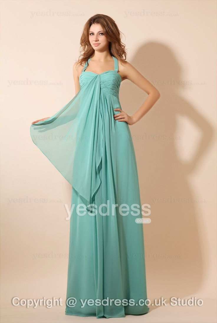 10 best beautiful bridesmaid dresses images on pinterest 2013 style fascinating chiffon a line halter sweetheart bridesmaid dress ombrellifo Image collections