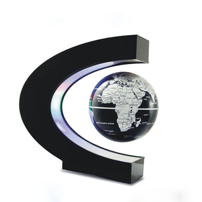 457 best globes images on pinterest maps world globes and world c shape led world map decoration magnetic levitation floating globe light generic gumiabroncs Gallery