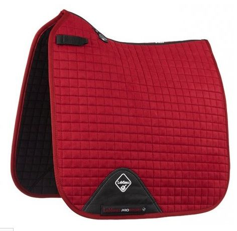 LeMieux Burgendy large dressage square.