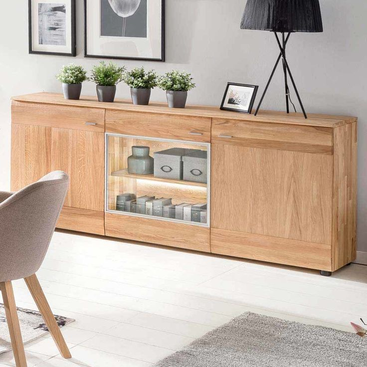 die besten 25 sideboard eiche massiv ideen auf pinterest kommode eiche massiv kommode eiche. Black Bedroom Furniture Sets. Home Design Ideas