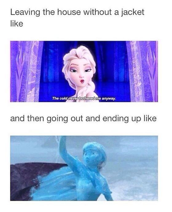 Frozen memes