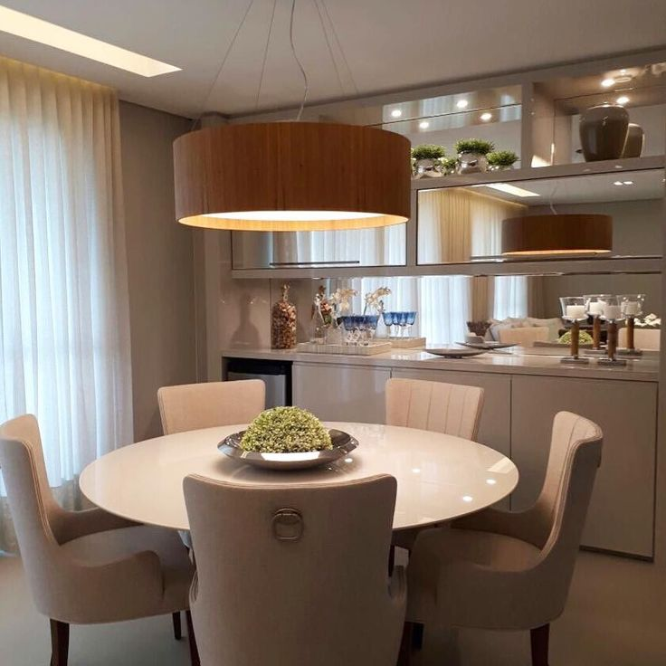 23 best sala jantar images on pinterest dining rooms for Decoracion casas americanas