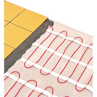 Klima Underfloor Heating Mat 10m² | Underfloor Heating Mats | Screwfix.com