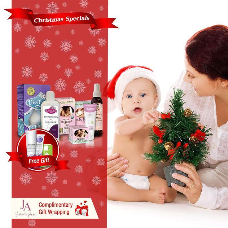 "Buy ""New Mother Christmas Gift Set"" for $149.99 and receive a Free gift valued at $44.49 & Complimentary gift wrapping till Christmas Eve. #chirstmas   #giftideas   #motherhood"