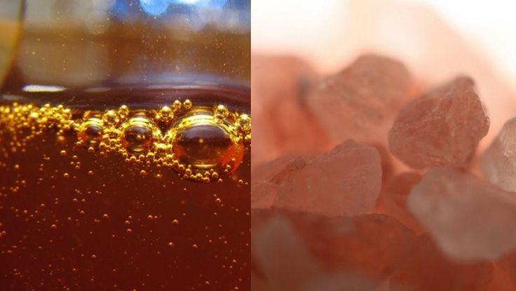 Was man dazu braucht: 1 Teelöffel rosa Himalayasalz 5 Teelöffel Rohhonig Und wie wird es zubereitet? Vermenge die beiden Zutaten gut miteinander und gebe die Mischung anschließend in eine gut verschließbares Gefäß. Wie wird es eingenommen? Nehme es jeden Abend vor dem zu Bett gehen. Nimm dann einen halben Teelöffel der Mischung ein. Behalte es …