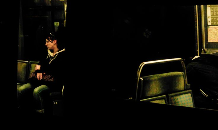 None of the pictures in this series is a composite, digital art creation.  They are street photography shots.