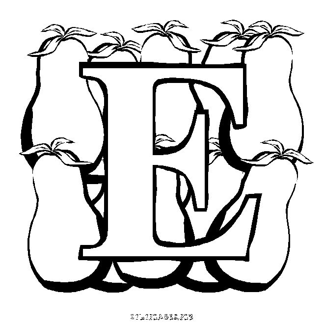 31 best images about alphabet jours mois saisons on pinterest calligraphy style and lettering - Alphabet rigolo a colorier ...