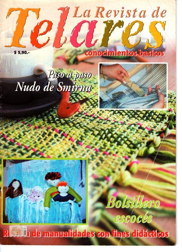 Revistas de Manualidades Para Descargar: La revista de Telares