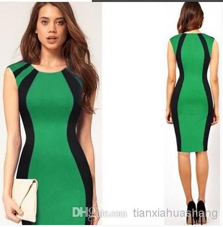 New 2014 Spring European And American Sexy Slim Work Dresses1 | Buy Wholesale On Line Direct from China