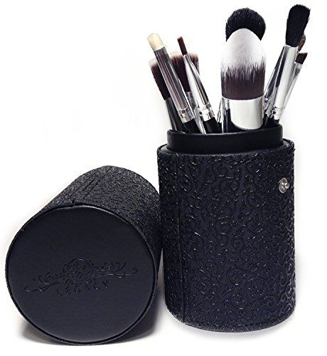 Best Makeup Brush Set Professional 10 Piece Cosmetic Tool Kit with Kabuki & Concealer Brushes, Bonus Travel Case and Gift Box >>> Read more reviews of the product by visiting the link on the image.