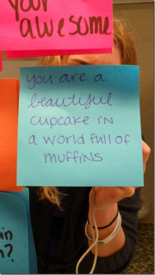 :) a beautiful cupcake in a world full of muffins!