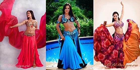 Где в москве можно купить костюм для восточных танцев