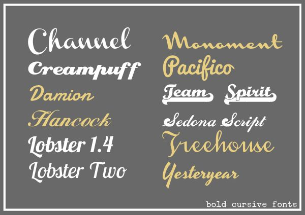 Hybrid Alien Bold Cursive Fonts Great For Cameo Bold