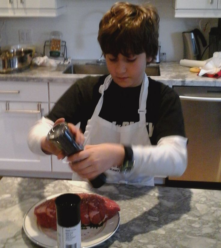 Guest Blogger KidCritic is adding salt and pepper to his Roast. He is taking the Canadian Beef #RoastBeefChallenge