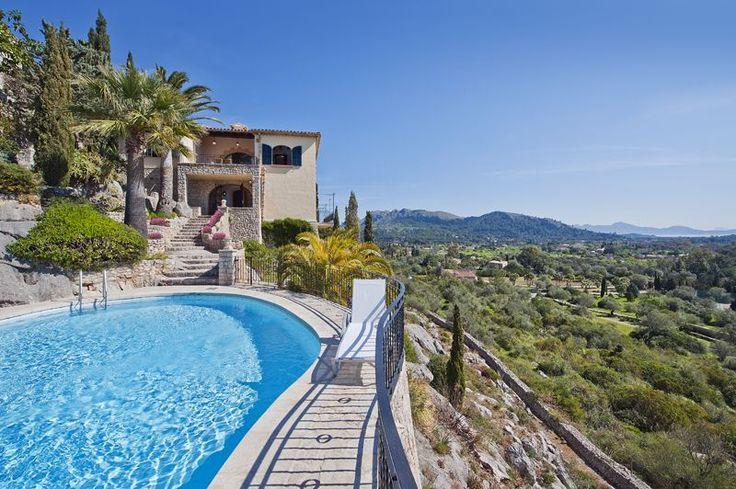 La Penya Alta: Spectacular Villa With Breathtaking Views Of Pollensa ... | HomeAway