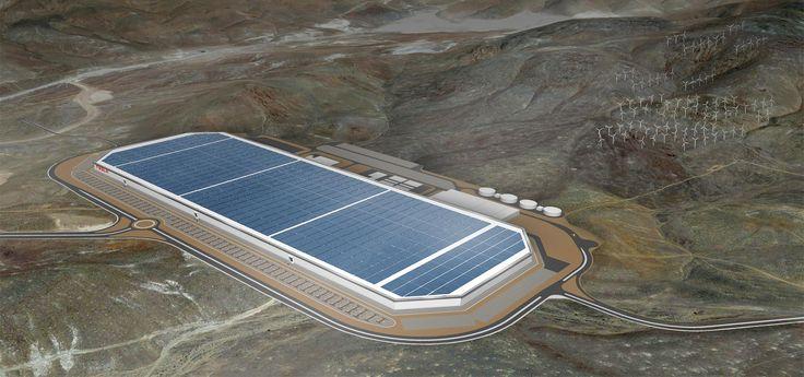 Tesla Gigafactory   Tesla Motors
