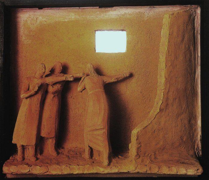 Arturo Martini L'avvenimento, 1921, terracotta