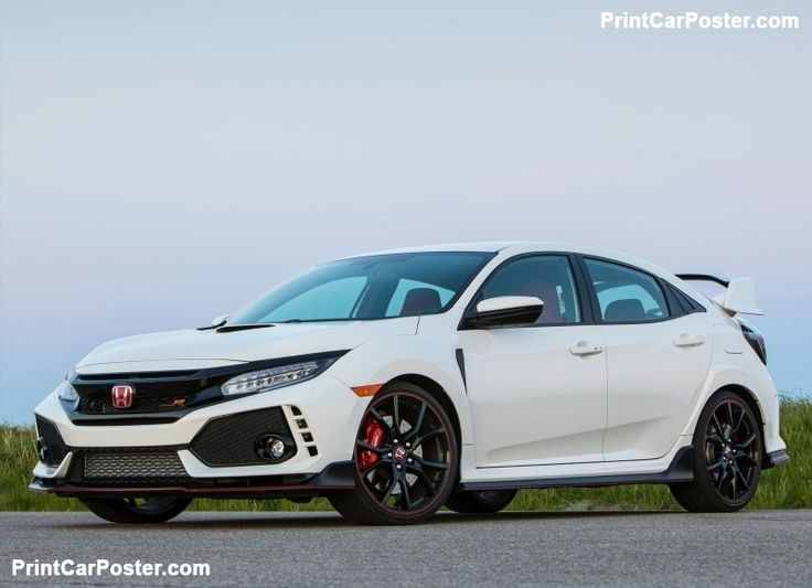 Honda Civic Type R [US] 2017 poster, #poster, #mousepad, #tshirt, #printcarposter