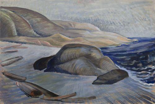 The Coast of Juan de Fuca, c. 1936. Emily Carr