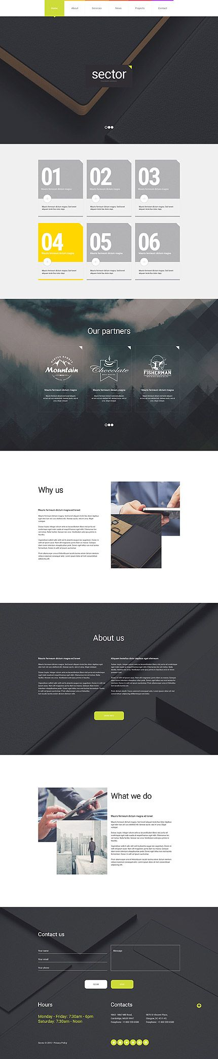 Investment Solutions Website #WordPress #template. #themes #business #responsive