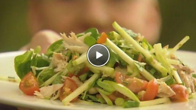 Salade met Granny Smith en makreel - recept   24Kitchen
