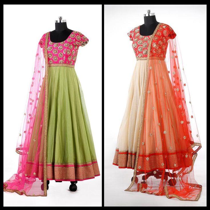 Anarkali dress- #Meunalini Rao collections