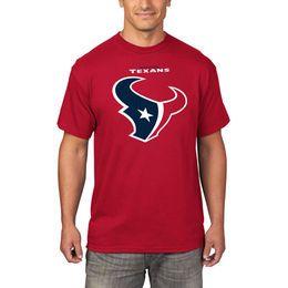Men s Houston Texans Majestic Red Critical Victory T-Shirt  f0ba70b6b