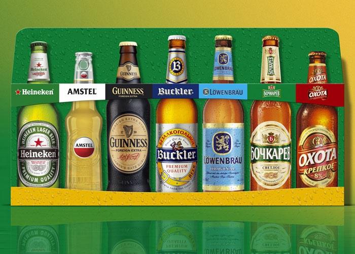 Мини-витрина, Heineken Russia от рекламного агентства Fishkey
