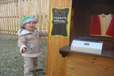 toddler outdoor play house