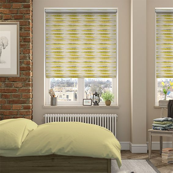 Choices Reverie Spring Green Roller Blind from Blinds 2go