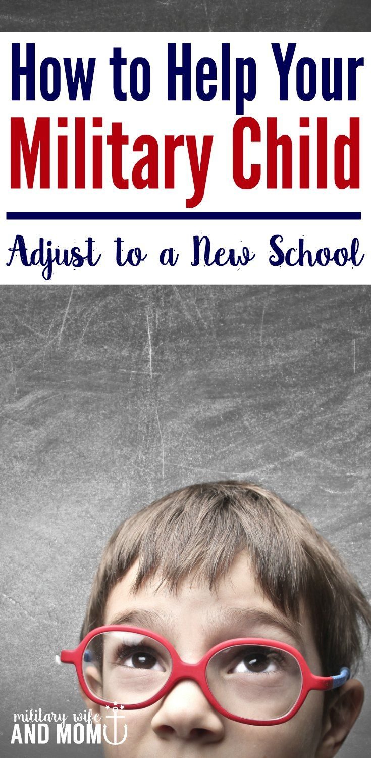 Learn 6 ways to help your military child adjust to a new school after a military PCS move. Plus, grab this PCS checklist for changing schools with military kids. via @lauren9098