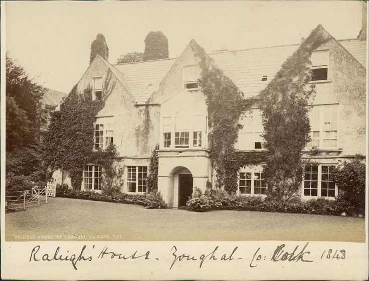 Йол, графство Корк (Ирландия). Дом сэра Уолтера Рэли 1848 (перепечатка 1870)