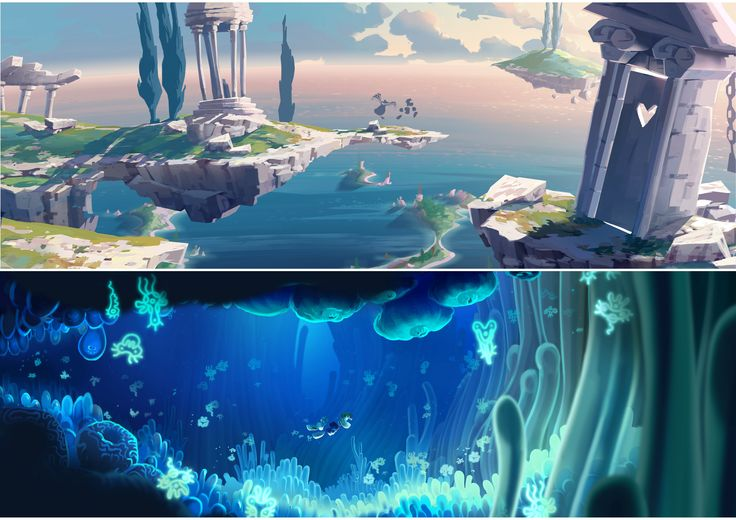 """Rayman Legends"" concept art (Artist Unknown)"