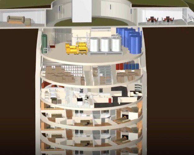 25+ best Doomsday bunker ideas on Pinterest | Bunker, Underground ...