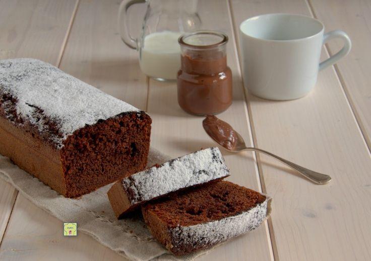 Plumcake+alla+nutella