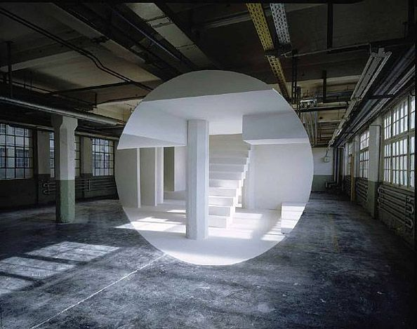 Anamorphose - Georges Rousse