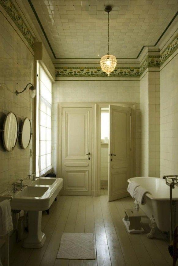 Les 25 meilleures id es de la cat gorie salle de bains avec baignoire pattes sur pinterest Salle de bains les idees qu on adore