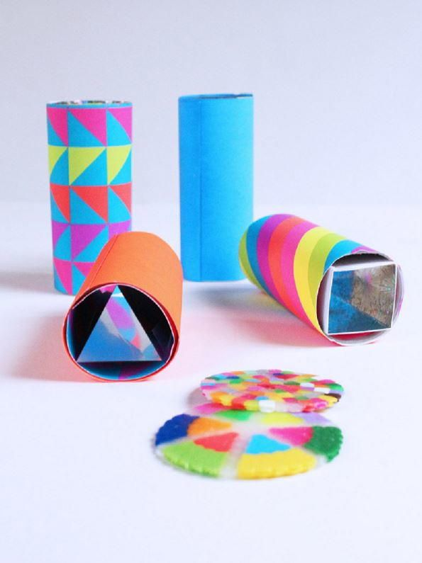 How to Make a Kaleidoscope | A great way to spend the afternoon!