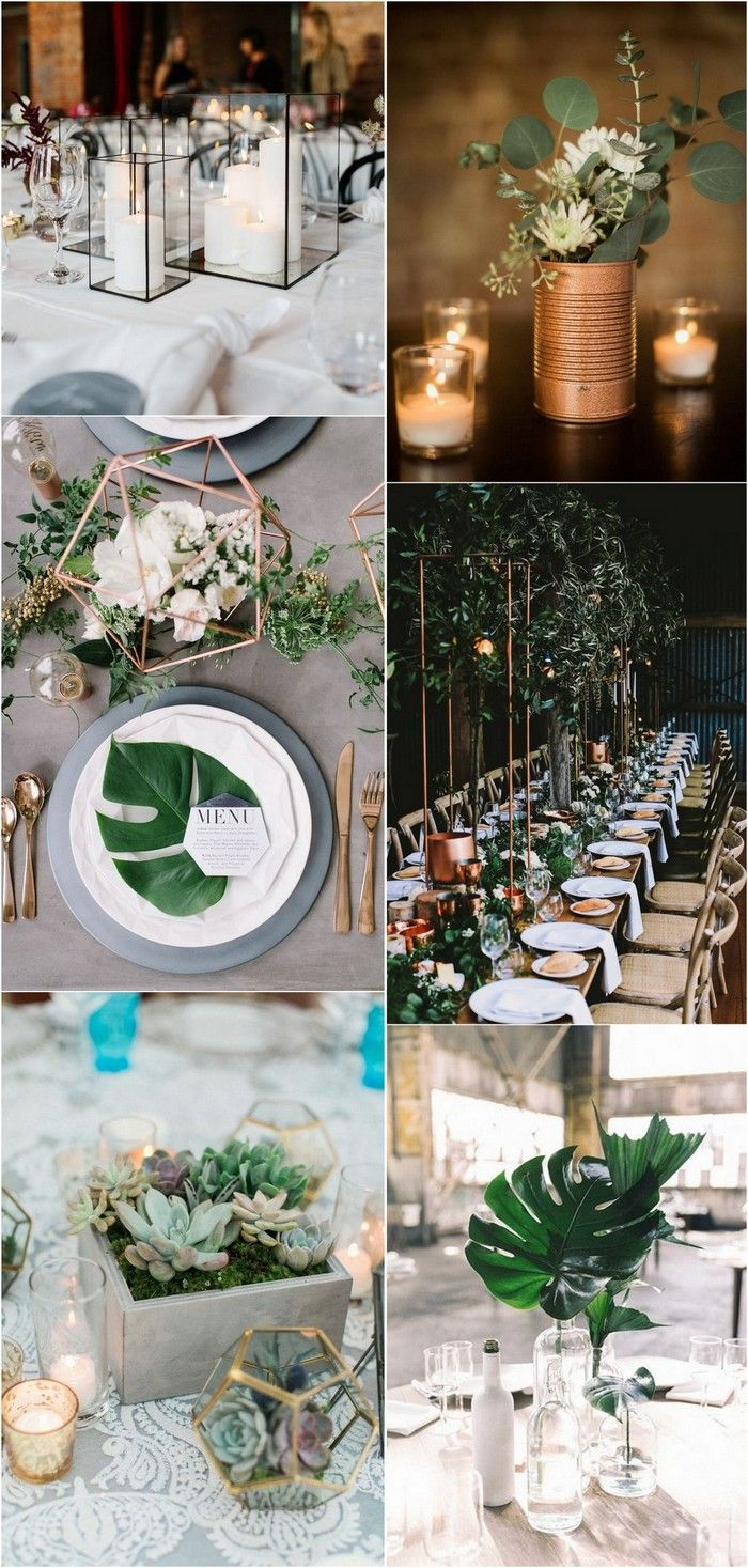 industrial wedding centerpieces #weddingideas #weddingdecor #weddingcenterpiece #weddingthemes