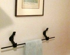 Rail anchor toilet paper dispenser - Eclectic - Towel Bars And Hooks - san francisco - by Railroadware