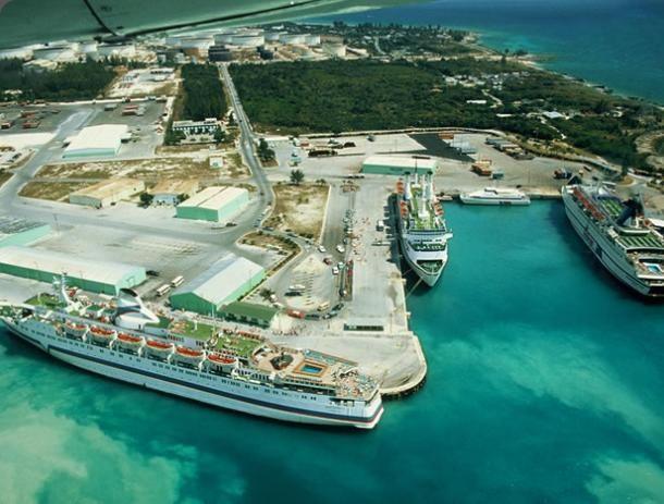 Lucaya (where the cruise ships dock) Freeport, Bahamas