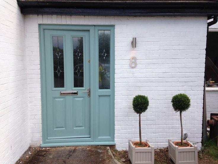 Dix Blue front door
