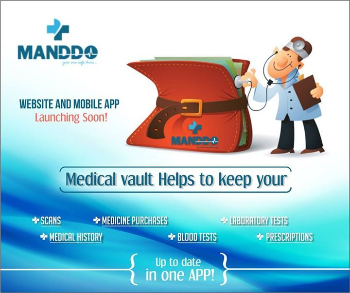 Facing trouble in carrying your medical history & reports everywhere you go? Save everything in your Medical Vault on Manddo App & view wherever & whenever needed.