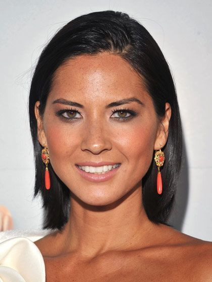 Olivia Munn all-over bronze makeup  | allure.com