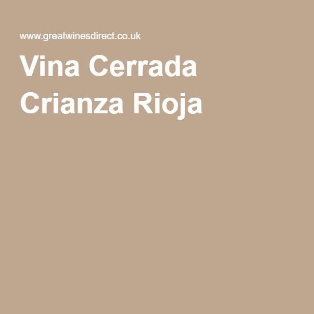 Vina Cerrada Crianza Rioja