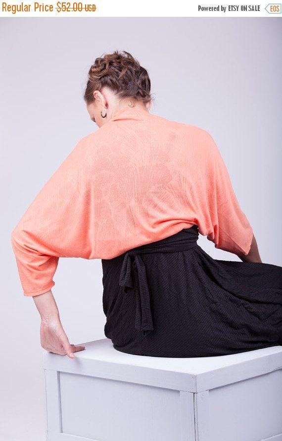 40% OFF Evening shawl and wrap bridesmaid shrug  mother by Sheeebz  #peachshrug