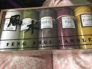 Five Elements Luxury Feng Shui Candle Set   | eBay