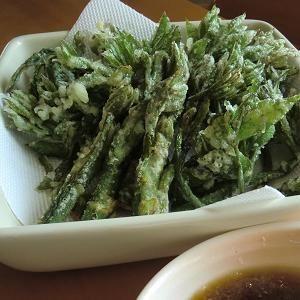 """UDO TENPURA"" - japanese recipe/春の山菜~うどの天ぷら"