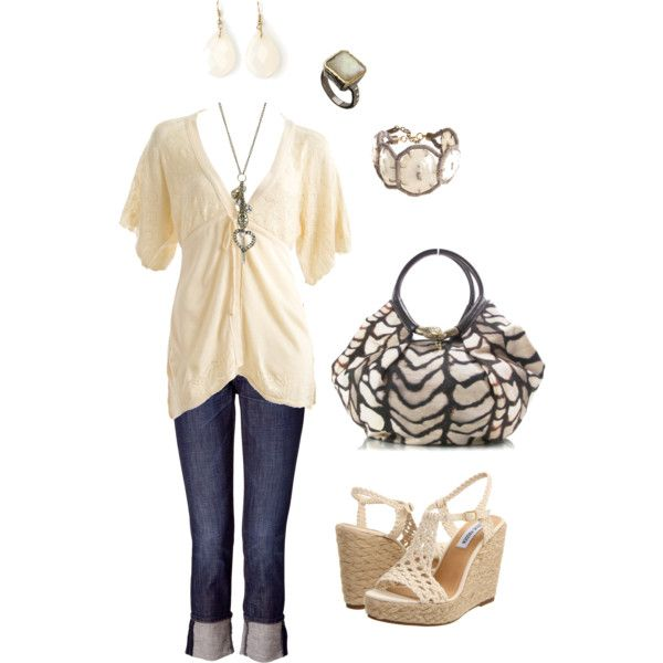 : Girls, Outfits Titiii, Clothing Mi Style, Bohemian Ii, Curvy Outfits, Michle, Bohypsi, Polyvore, Create