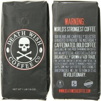 Death Wish Coffee - Birthday Gifts for Guys #coffee